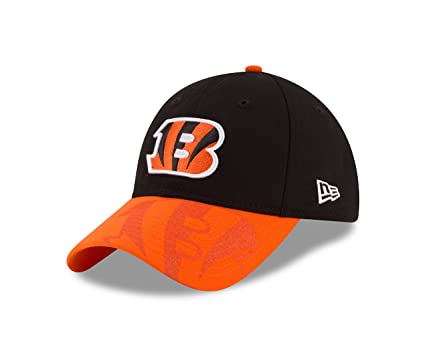 sports shoes 86bdd 117dc New Era NFL Cincinnati Bengals 2016 Women s Side Line LS 9TWENTY Adjustable  Cap, One Size