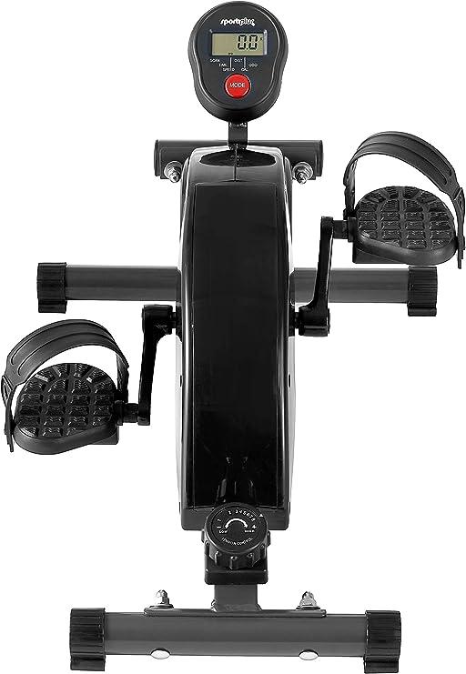 SportPlus Minibicicleta Estática Sistema de Frenado Magnético ...