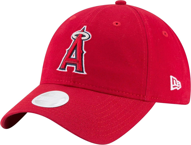 competitive price d119e 3eb4b Amazon.com   New Era Women s Los Angeles Angels 9Twenty Adjustable Hat  (OneSize)   Clothing