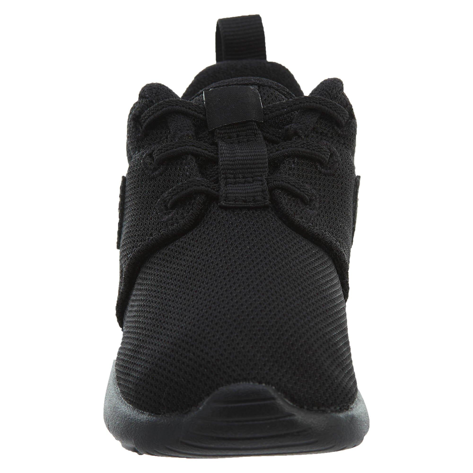 Nike Toddlers' Roshe One (TDV) Black Fabric Running Shoe 6 by Nike (Image #5)