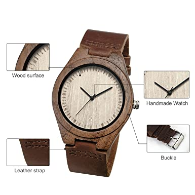 CUCOL Wooden Watches for men review