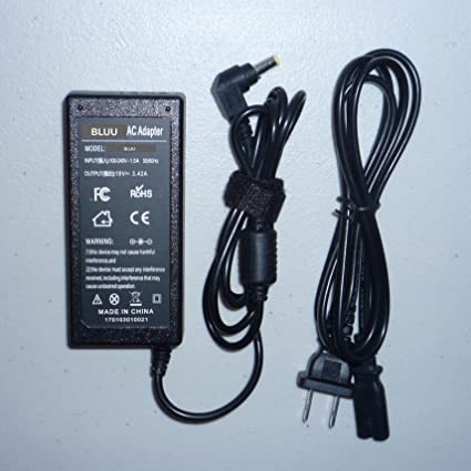 Battery Charger Power Supply Ac Dc Adapter for Acer Aspire Notebook: 5742-6838 5742