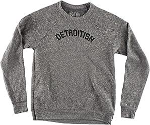 5e0690cbe0 Ink Detroit Detroitish Crewneck Sweatshirt - Heather Grey