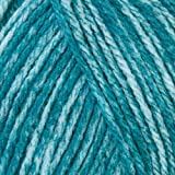 Mary Maxim Starlette Yarn - Teal Heather - 100% Ultra Soft Premium Acrylic Yarn for Knitting and Crocheting - 4 Medium Worsted Weight