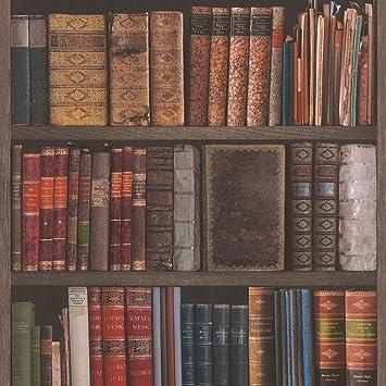 Rasch Bibliothek Bucher Tapete