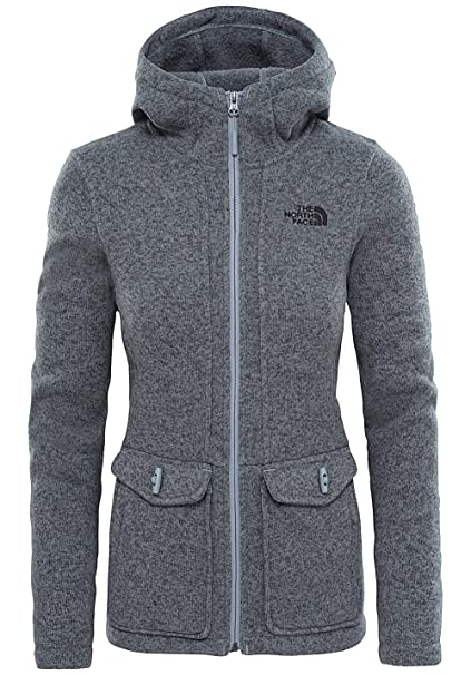 The North Face Crescent Parka, Chaqueta para Mujer, Gris (New Taupe Green Heather