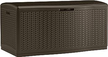 Suncast Resin 124-Gallon Deck Box