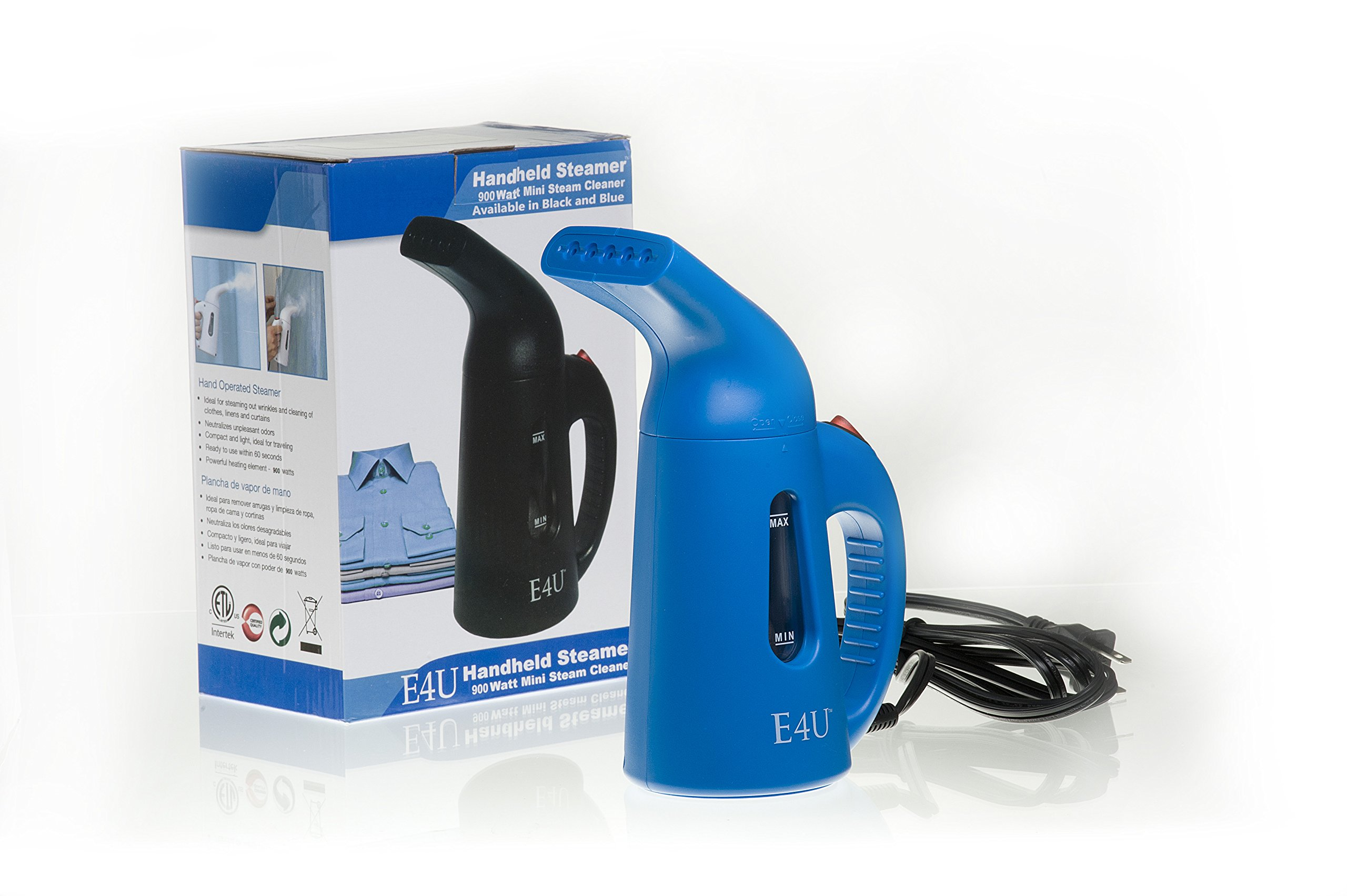 Best Quick Steam Clothing and Garment Steamer - Bonus Elite Travel Case - 900 Watt Travel Steamers for Clothes Fabrics