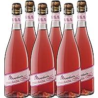 Monteberin Lambrusco Rosado - 6 Botellas de 750