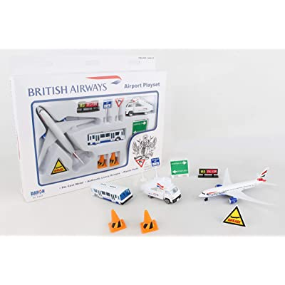 Daron British Airways Airport Playset: Toys & Games