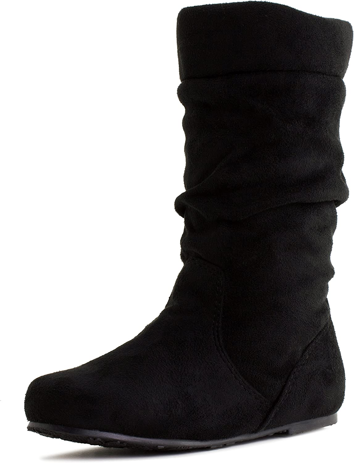 Link Womens 11 Inch Faux Suede Ankle Boots Adults