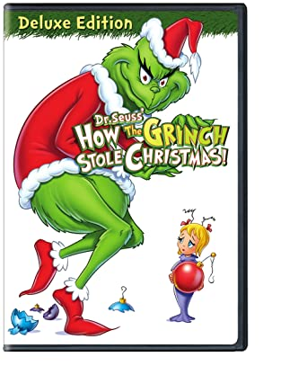 dr seuss how the grinch stole christmas deluxe edition - The Grinch Stole Christmas Full Movie