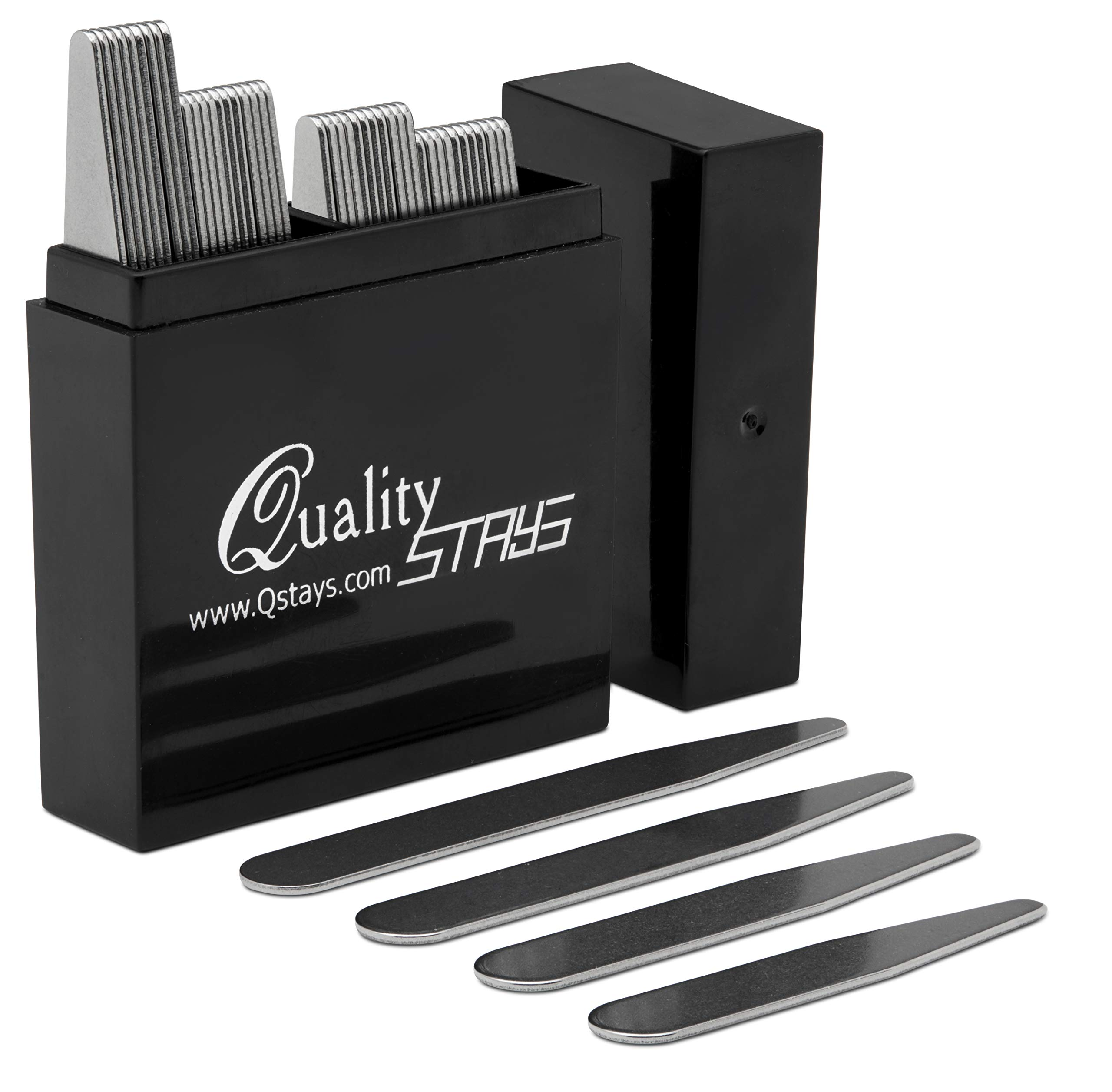 40 Metal Collar Stays in a Box - 4 Sizes