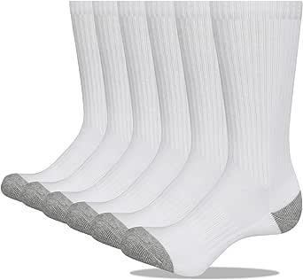 Closemate 6 Pares Calcetines Deporte Hombre Transpirables Atléticos Cojín Engrosado Algodón Acolchados Calcetines Para Lavoro Running Caminata