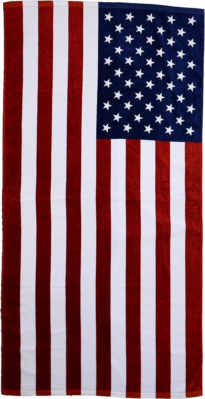 Bandera de Estados Unidos toalla de playa: Amazon.es: Hogar