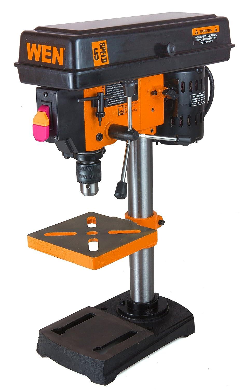 3. WEN 8 inch 5 speed Drill Press - Cheap Portable Pillar Drill