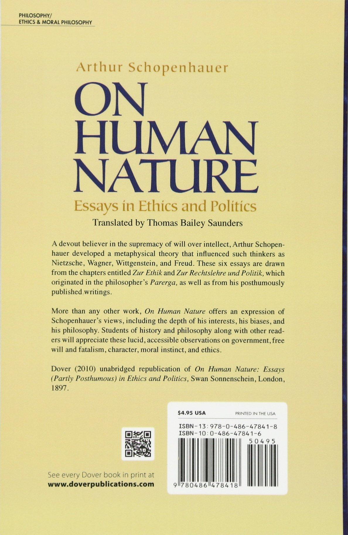 Human nature evil essay