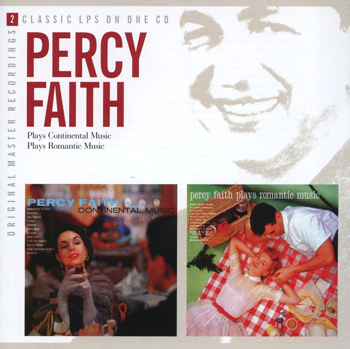 Percy Faith Plays Continental Music / Percy Faith Plays Romantic Music by Taragon