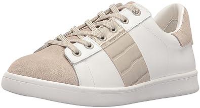 bd00b7fe2458 Sam Edelman Women s Marquette Fashion Sneaker White Greige 9.5 ...