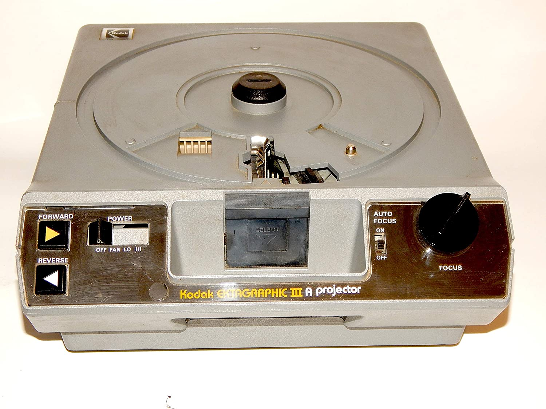Kodak Ektagraphic III ATS Slide Projector with Built in Slide Viewer : Kodak Carousel Slide Projector : Camera & Photo