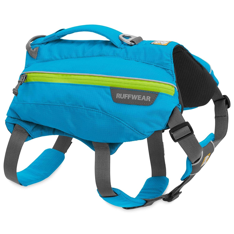 bluee Dusk Medium bluee Dusk Medium RUFFWEAR Singletrak Hydration Pack for Dogs, bluee Dusk, Medium
