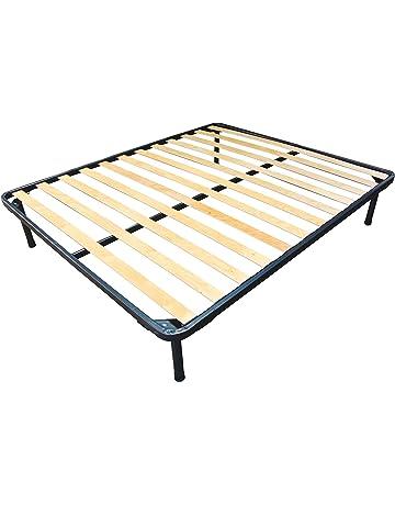Baldiflex - Somier de hierro y láminas de haya para colchones ortopédicos individuales. Modelo