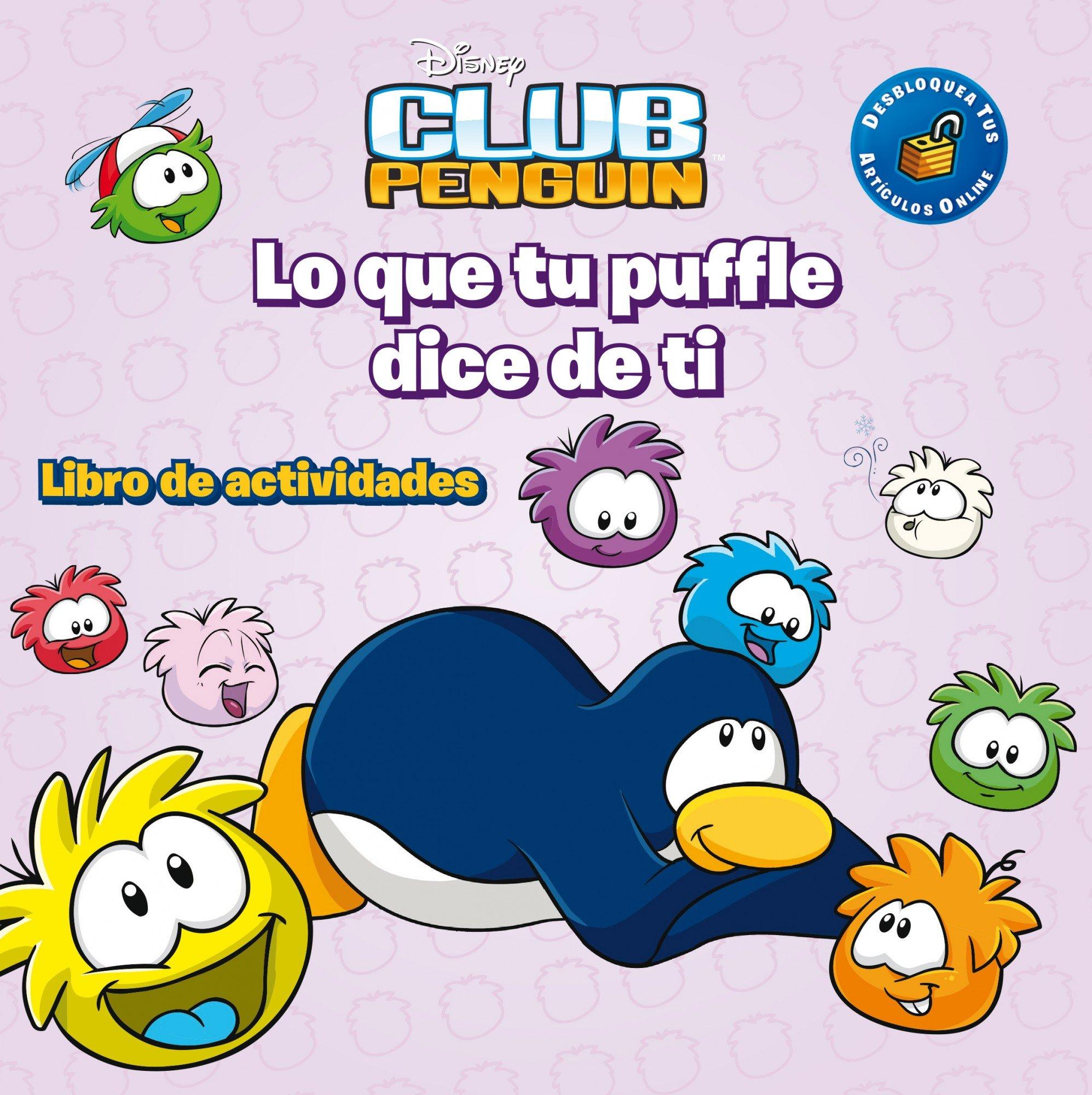 Club Penguin. Lo que tu puffle dice de ti: Libro de actividades ...