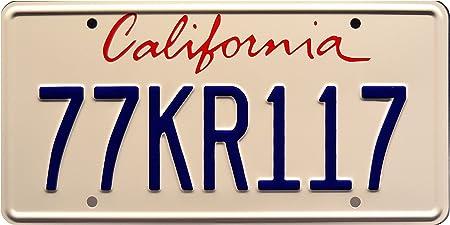 Knight Rider | 77KR117 | Metal Stamped License Plate: Amazon.es: Coche y moto