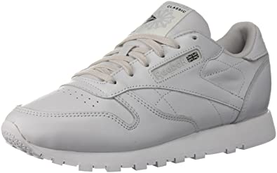 Reebok Women's Cl Lthr X Face Walking Shoe, Porcelain/White/Black, 7.5 M US