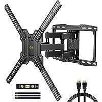 TV Mount Bracket Max VESA 600x400mm for Most 42-75 inch Flat Screen/LED/4K TVs, USX MOUNT Full Motion TV Wall Mount Dual…