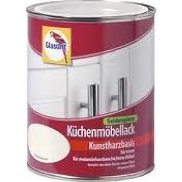 Küchenmöbellack glasurit küchenmöbellack seidenglanz 0 75l kokosnuss amazon de