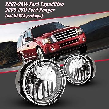 For 2007-2014 Ford Expedition 08 Ranger Bumper Fog Light Clear Bulb