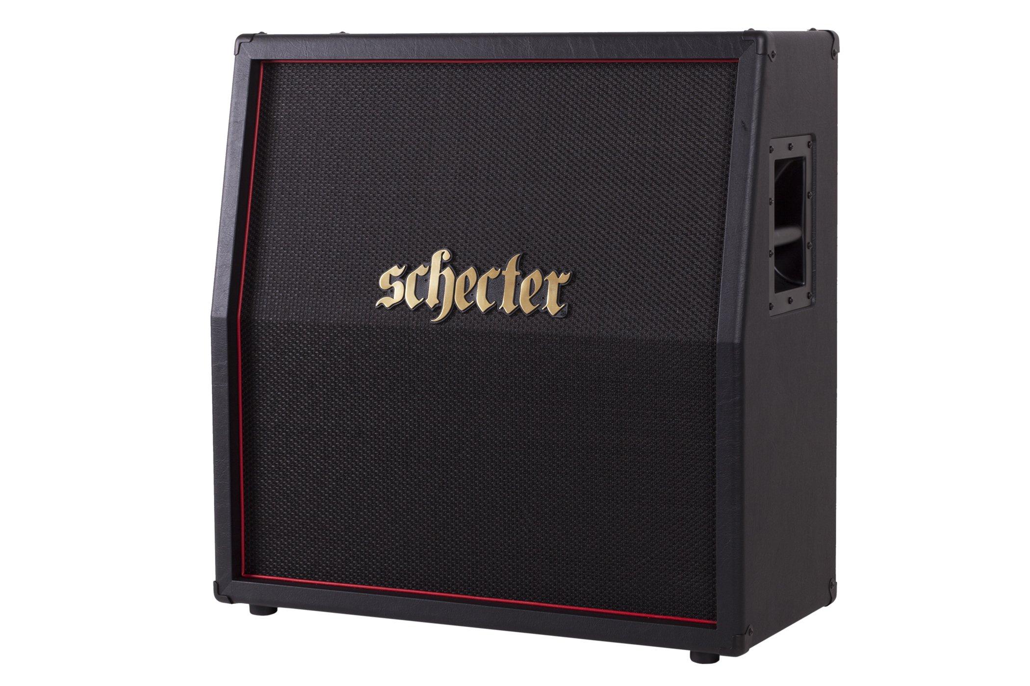Schecter HR412-SLP1280E Hellraiser Deluxe Stage 4x12 Slant Cab