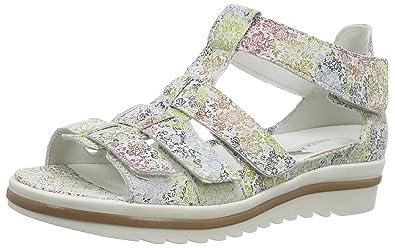 b4da0cd1b01 Waldläufer Women s Hakura Open Toe Sandals