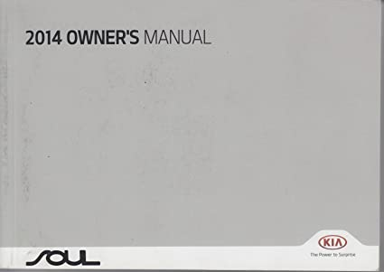 kia soul user manual