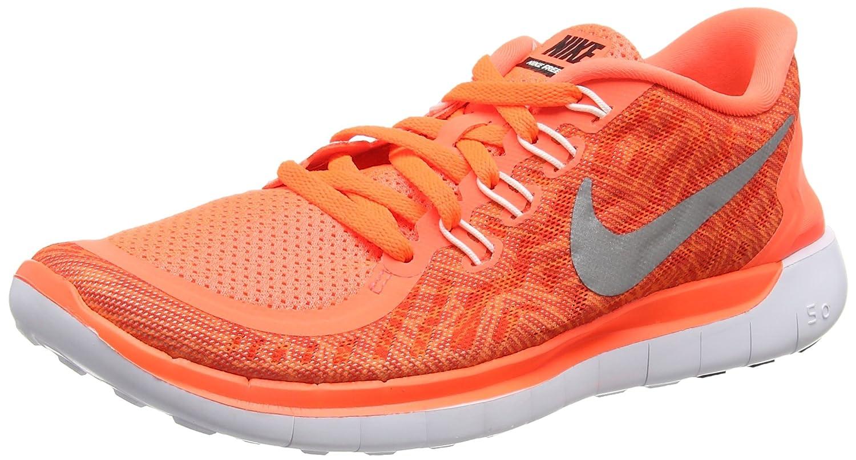Nike Women's Free Running Shoe B010RSM53Y 8 B(M) US Hyper Orange/Black/Sail/White