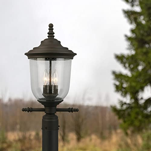 EGLO 202878A Pinedale Outdoor Light, 21.00×10.63×10.63, Matte Bronze