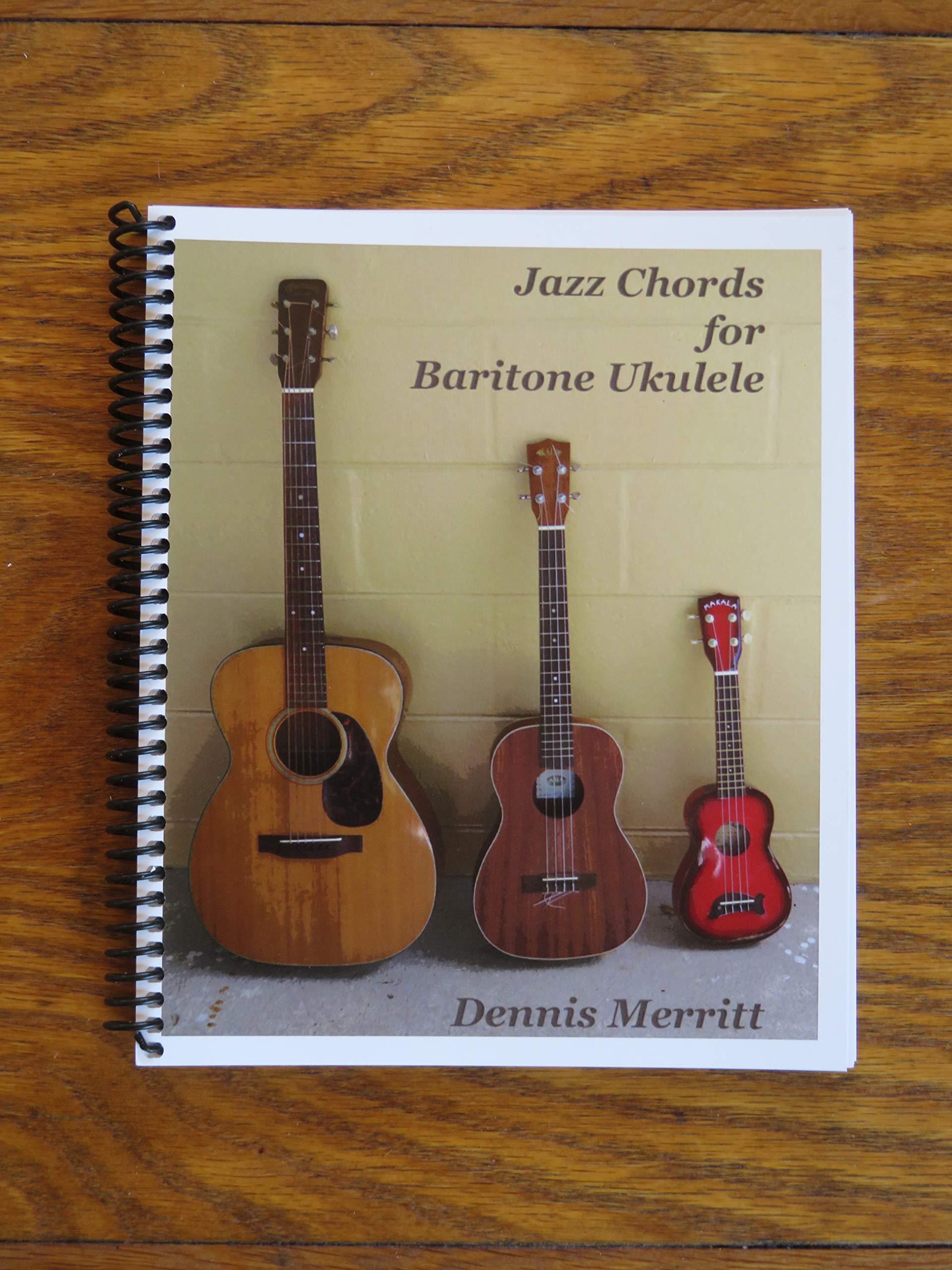 Jazz Chords for Baritone Ukulele Dennis Merritt 15 ...