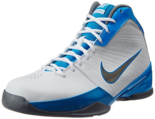 info for 9d8f9 ff5b3 Nike Men s Air Quick Handle White, Metallic Cool Grey, Blue Hero Basketball  Shoes -8 UK India (42.5 EU)(9 US)  Buy Online at Low Prices in India -  Amazon.in