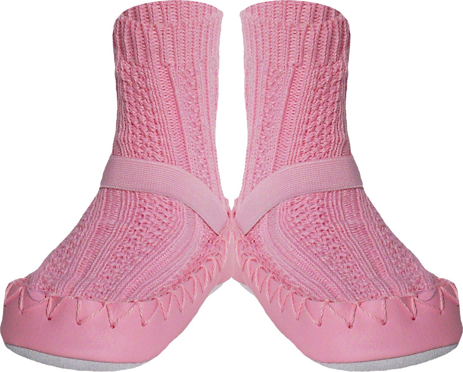 Konfetti Cable Knit Swedish Moccasin Slipper Socks by Konfetti (Image #1)