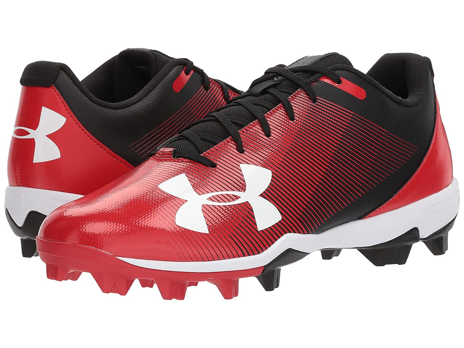 (アンダーアーマー) UNDER ARMOUR メンズ野球ベースボールシューズ靴 UA Leadoff Low RM Black/Red 11 (29cm) D Medium B07CBMRM16