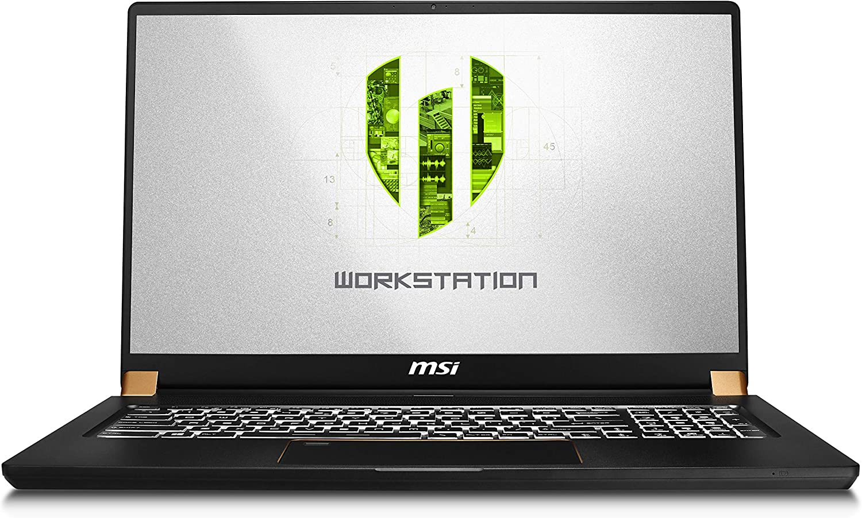 "MSI WS75 9TK-498 17.3"" FHD Thin and Light Mobile Workstation Intel Core i9-9880H Quadro RTX 3000 32GB 1T Nvme SSD Win10 Pro TPM2.0 TB3 Fingerprint"