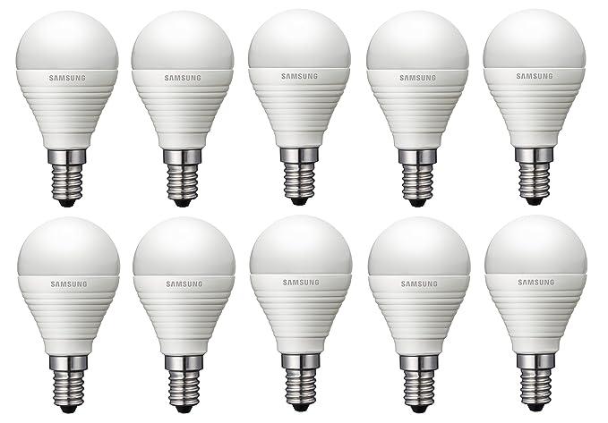 10 unidades Bombilla LED Samsung LED Bombilla En Forma De Gota Classic P 4.3 W equivalente