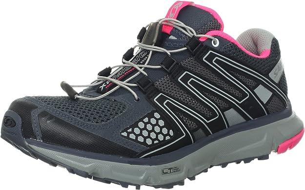 Salomon Mujer Zapatillas de Deporte Gris Size: 43 1/3 EU: Amazon.es: Zapatos y complementos