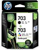HP 703 Combo Ink Cartridge (Black/Tri-color)