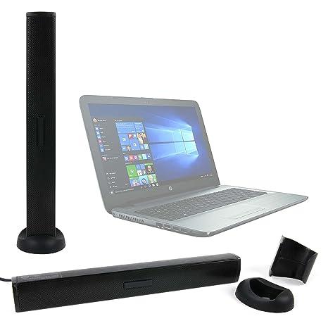 DURAGADGET Altavoz Soundbar para Portátil Medion Akoya S6219 (MD 60626), Medion Erazer P6679 (MD 60594) / HP 15-bs043ns, HP 15-bs044ns: Amazon.es: ...