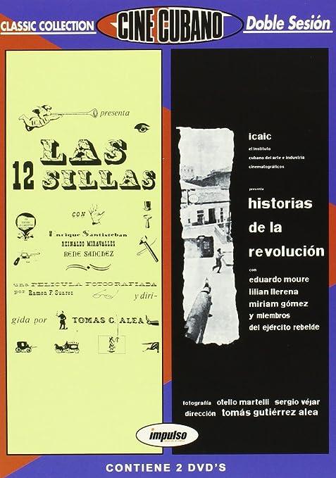 Pack Cine cubano: Historias de la revolución + Las doce sillas DVD ...