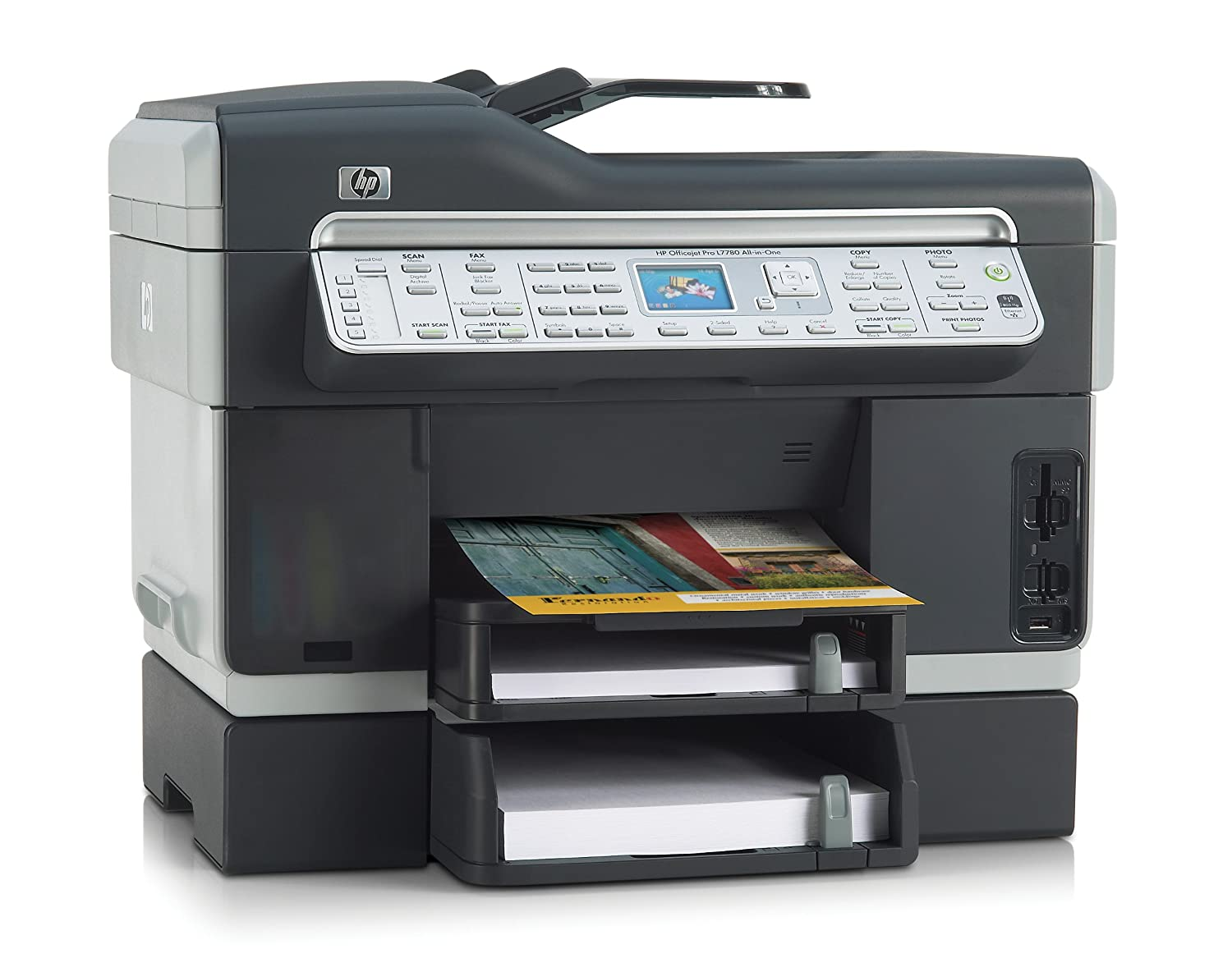 Amazon.com: HP Officejet Pro L7780 Color All-in-One Printer/Fax/Scanner/Copier  (C8192A#ABA): Electronics