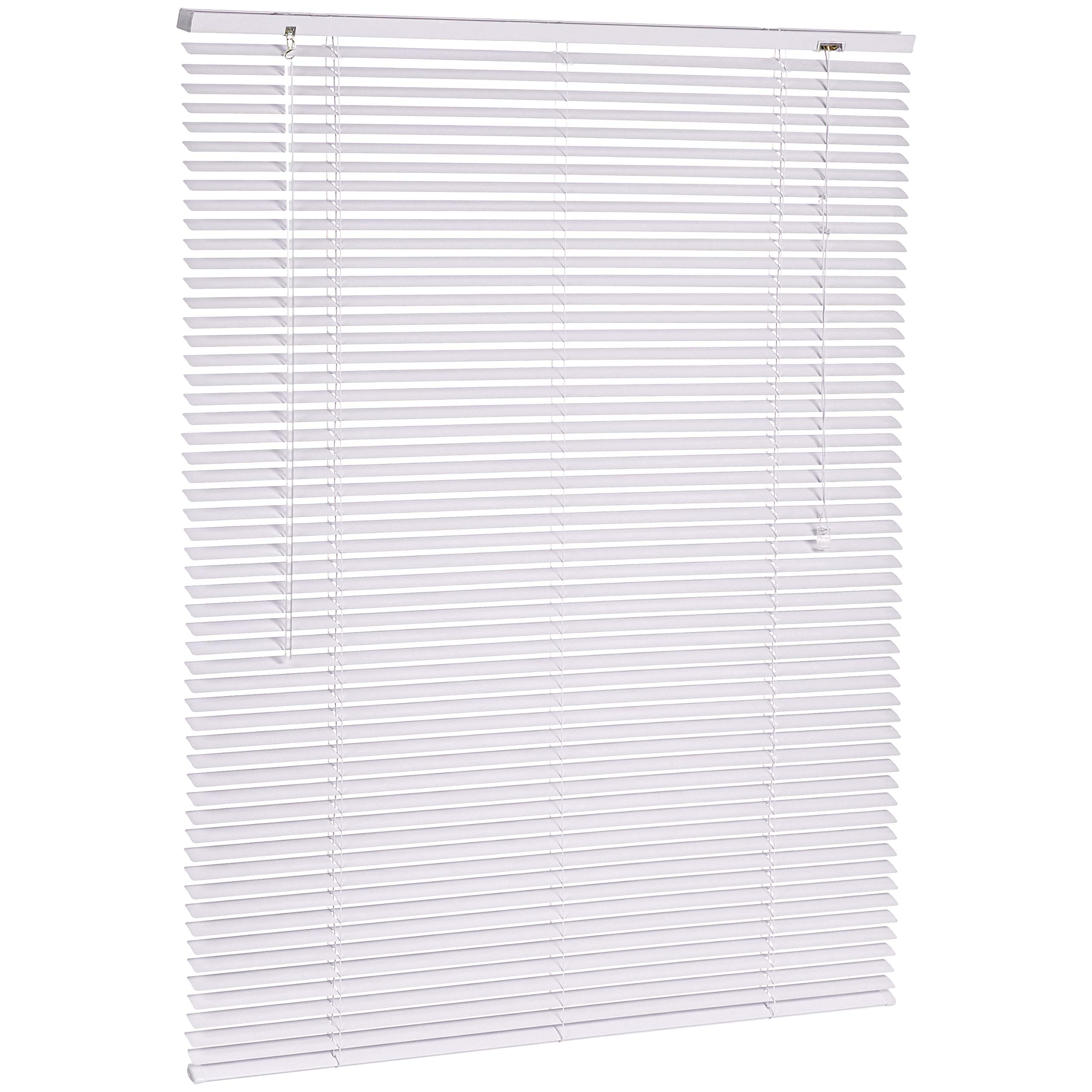 White Twist 50 x 220 cm DEBEL Venetian Blind Metal