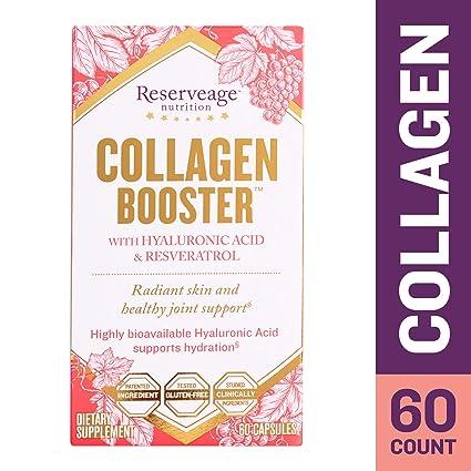 Collagen Booster, con Ácido Hialurónico y resveratrol - ReserveAge Nutrición